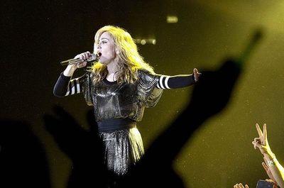 "Madonna critica a Trump en Lisboa por la ""guerra que inventó con Irán"""