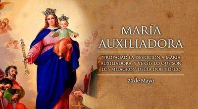 Hoy celebramos a María Auxiliadora, la que sostiene en tiempos difíciles