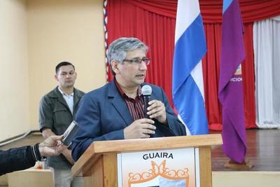 Gobernador de Guairá señala que equipo de Friedmann estaría detrás de denuncias en su contra