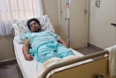 Kelembú sufre fisura de costilla tras golpiza