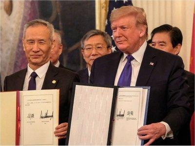 Acuerdo entre EEUU y China alivia economía del mundo