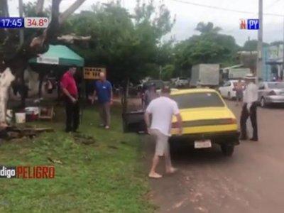 Funebreros se moquetearon por los difuntos de un hospital