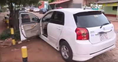 Recuperan vehículo robado gracias a GPS