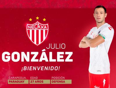 Julio González es nuevo jugador de Necaxa
