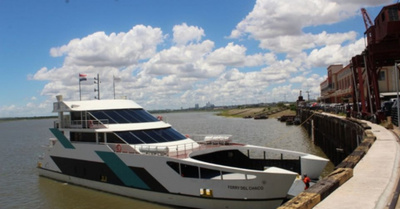 Ferry del Chaco no navegará hasta nuevo aviso