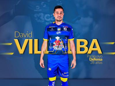 Finalmente, David Villalba no jugará en Delfín