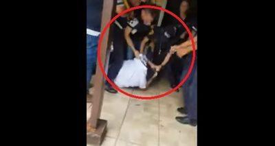 Funcionario que protagonizó incidente con Kelembú fue suspendido