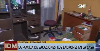 Desvalijan vivienda mientras los dueños estaban de vacaciones