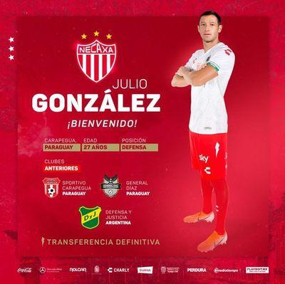 """""""Polaco"""" González fue presentado en Necaxa"""