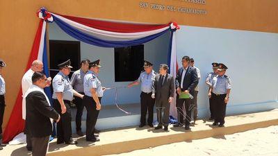 San Pedro: inauguran local sanitario y salón auditorio en puesto policial
