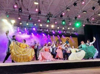 Takuare'ĕ de oro en festival del malambo