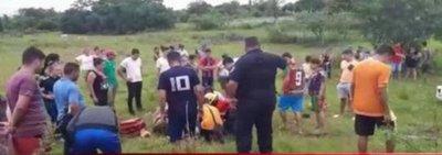 Dos niños heridos en accidente en Carapeguá