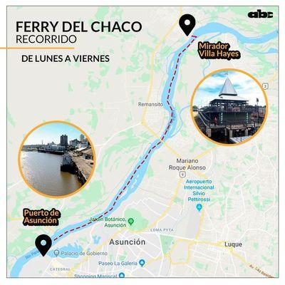 Ferry del Chaco ko'êrõ guive omba'apo jeýta pasajeroluérape guarãnte