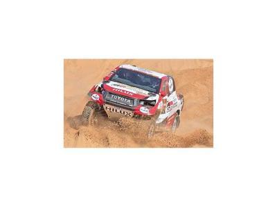 Blas y Nelson, por subir al podio en Dakar
