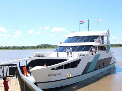 Ferry del Chaco reanuda  actividad tras percance