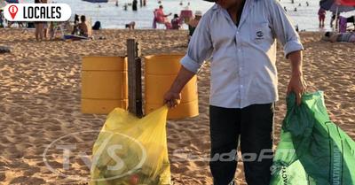 Reactivan la campaña de limpieza en las playas de Encarnación