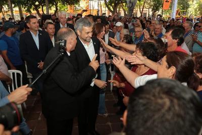 Mario Abdo destaca obra de Defensa Costera de Pilar