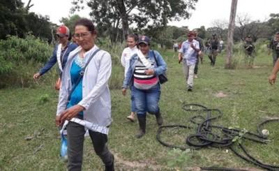 Familiares de Edelio ingresan al monte en busca del secuestrado