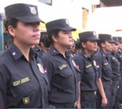 Mujeres policía pbuscan ser Linces