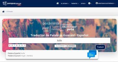 Secretaría habilita traductor de Guaraní y Español