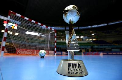 Presentan el emblema del Mundial de futsal FIFA
