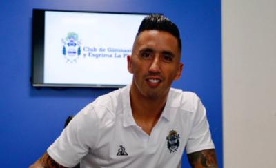 HOY / Lucas Barrios es nuevo jugador del Tripero de La Plata