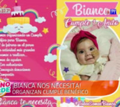 Bianca cumplirá un añito y necesita la ayuda de todos