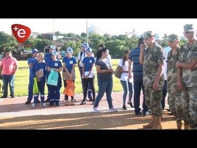 INSTITUCIONES DE ENCARNACIÓN SE UNIERON CONTRA EL DENGUE