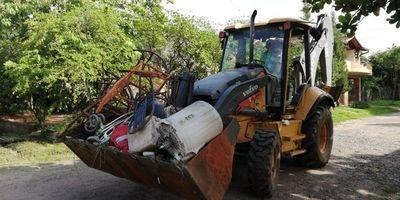 Inauguran minga ambiental para combatir al dengue en Villa Hayes
