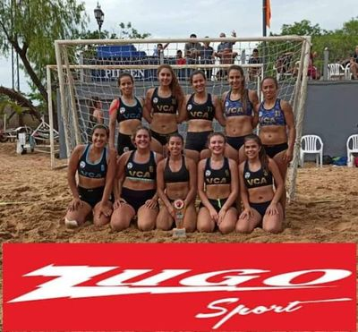 Beach Handball en el Deportivo Sajonia