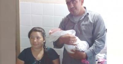 Supermamá dio a luz bebé de ¡más de 5 kilos!