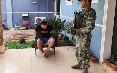 Capturan a jefe narco en Ciudad del Este