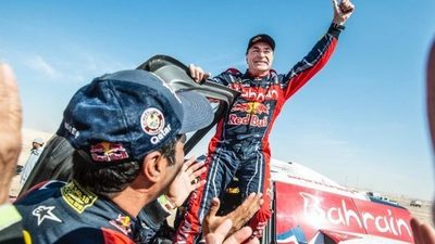 El español Carlos Sainz ganó el Rally Dakar por tercera vez