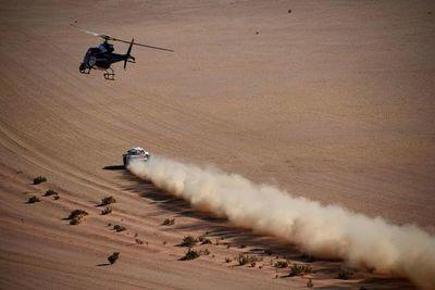 El Dakar en Arabia gusta por paisajes