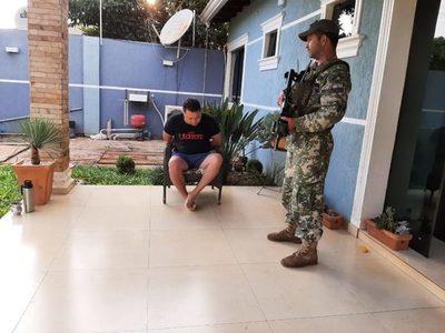 Capturan a presunto narcotraficante en Ciudad del Este