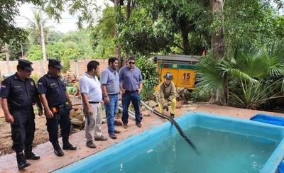 HOY / Mingas ambientales y allanamientos en Ñemby: Buscan eliminar criaderos de dengue