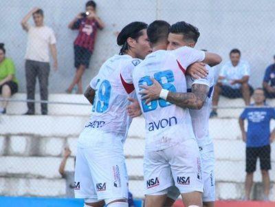 Nacional golea al debutante Guaireña
