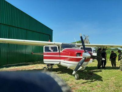 Una narco avioneta fue incautada en Amambay