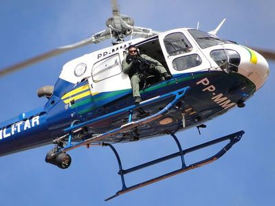 Por tierra y aire, Brasil moviliza a fuerzas de seguridad en la frontera