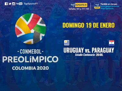 Paraguay se mide a Uruguay pensando en Tokio 2020
