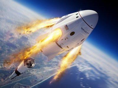 SpaceX destruye un cohete antes de enviar un vuelo con humanos