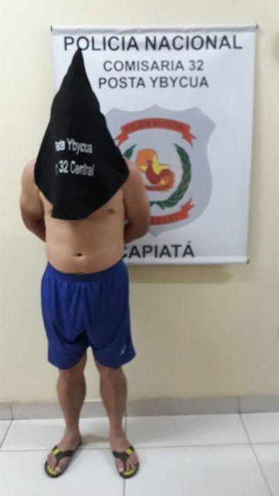 Detienen a un presunto abusador de menores en Capiatá