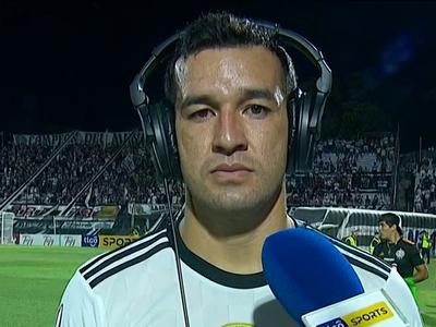 Néstor Camacho valora el gol y el triunfo principalmente