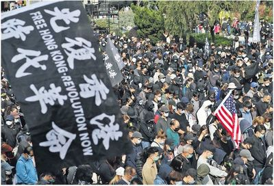 Hong Kong vuelve a la calle en reclamo por el voto  universal