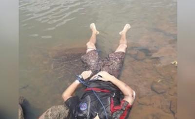 Encuentran cuerpo con impactos de bala flotando en el Paraná