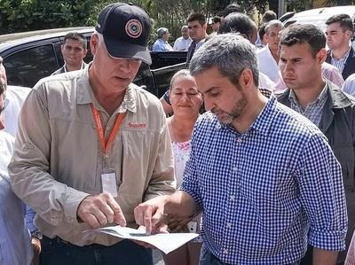 Abdo Benítez estará por Alto  Paraná mañana
