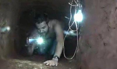Recorrimos el túnel de la cárcel de Pedro Juan Caballero