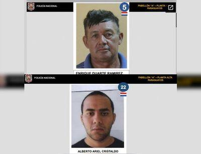 """Fuga de presos: Policía afirma que se filtró borrador del listado con """"datos imprecisos"""""""