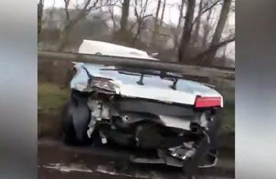 Futbolista argentino destroza su Lamborghini camino a su entrenamiento