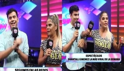 """Tenso momento entre Simone Villar y Sebas en """"El Gran Show"""""""